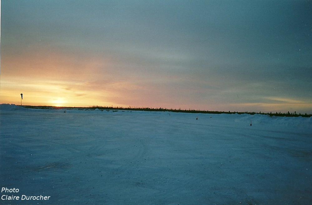 paysage hivernal nordique